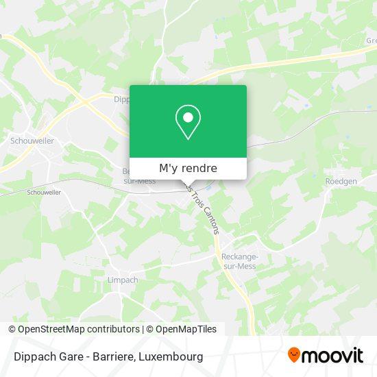 Dippach Gare - Barriere plan