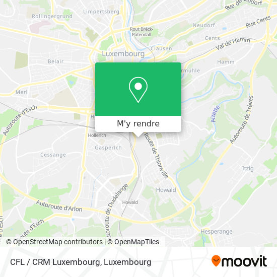 CFL / CRM Luxembourg plan
