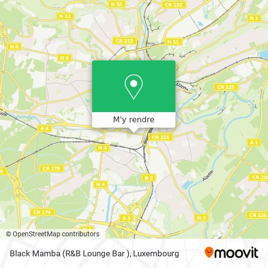 Black Mamba (R&B Lounge  Bar ) plan