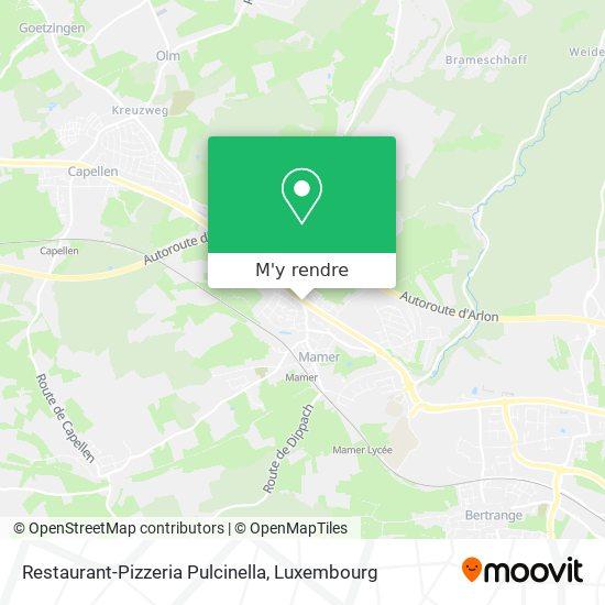 Restaurant-Pizzeria Pulcinella plan