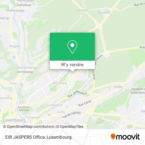 EIB JASPERS Office plan