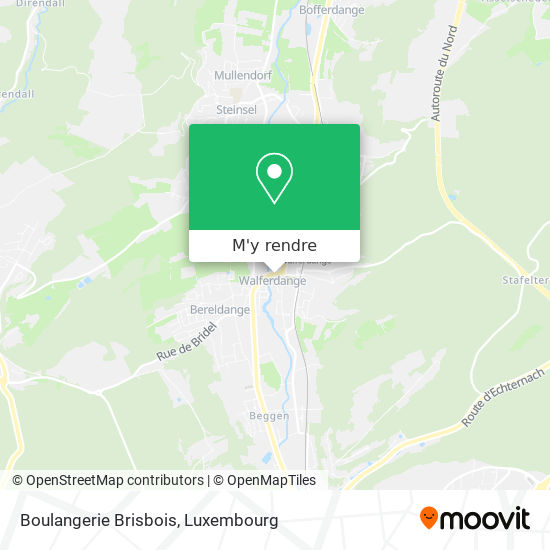 Boulangerie Brisbois plan