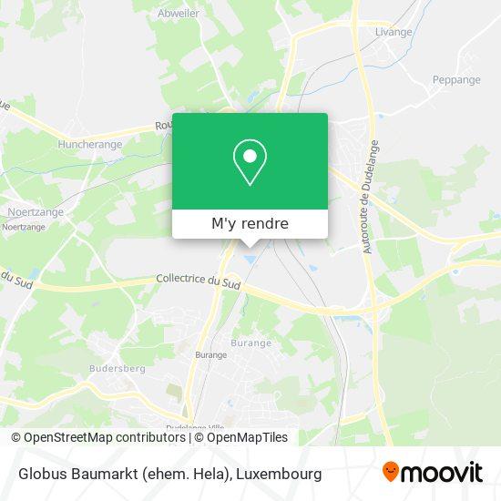 Globus Baumarkt (ehem. Hela) plan