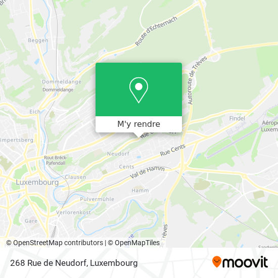 268 Rue de Neudorf plan