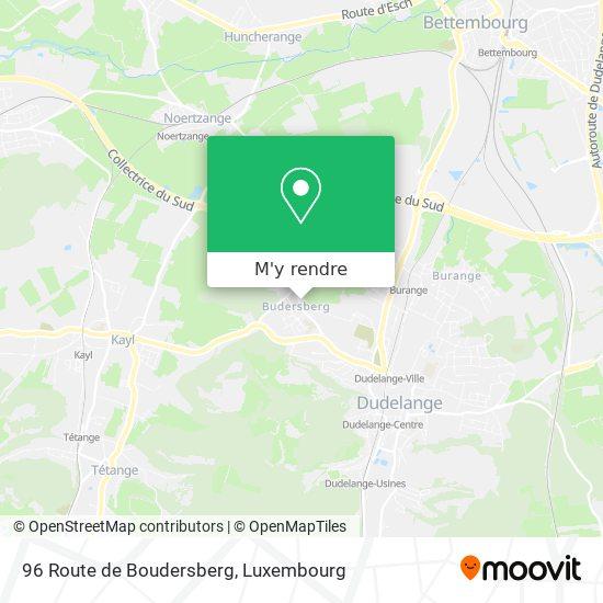 96 Route de Boudersberg plan