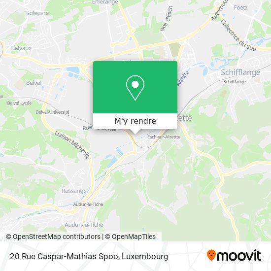 20 Rue Caspar-Mathias Spoo plan