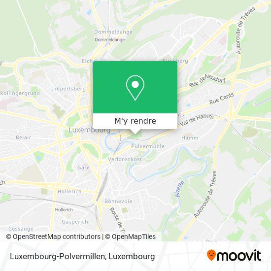 Luxembourg-Polvermillen plan