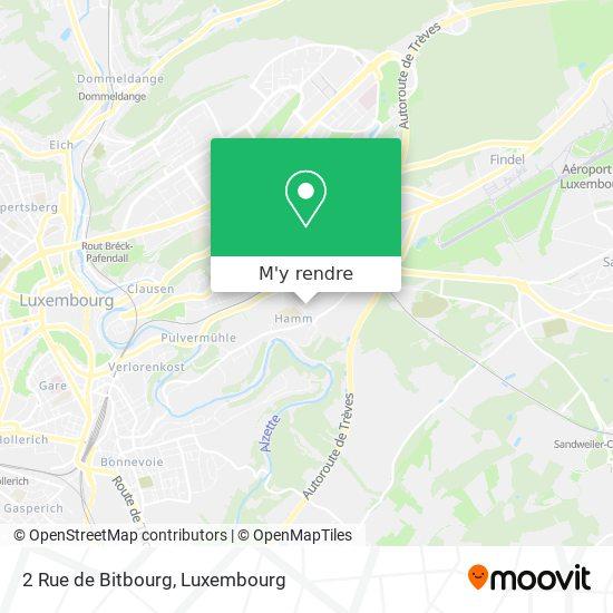 2 Rue de Bitbourg plan