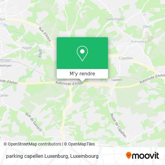 parking capellen Luxenburg plan