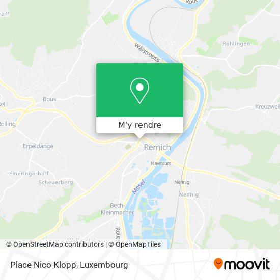 Place Nico Klopp plan