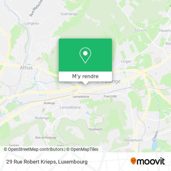 29 Rue Robert Krieps plan