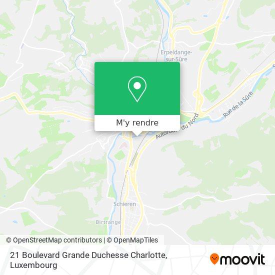 21 Boulevard Grande Duchesse Charlotte plan
