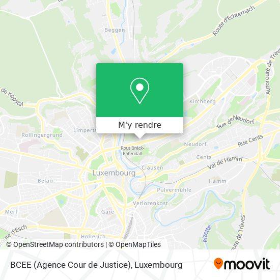 BCEE (Agence Cour de Justice) plan