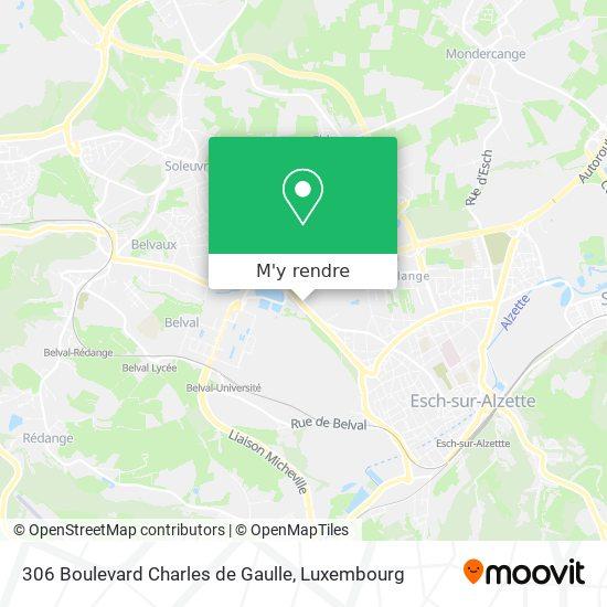 306 Boulevard Charles de Gaulle plan