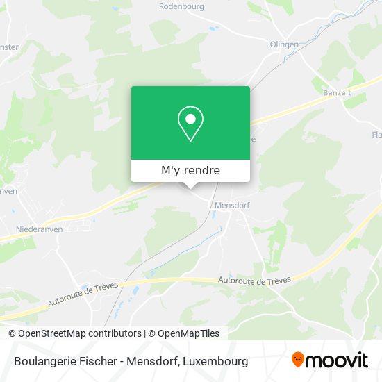 Boulangerie Fischer - Mensdorf plan