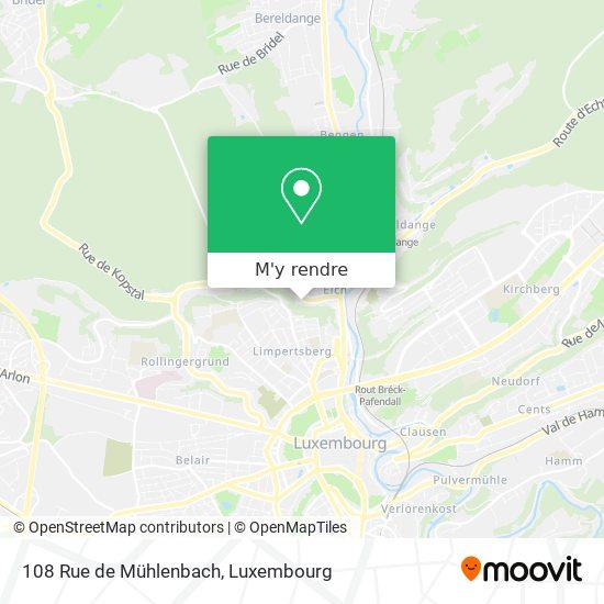 108 Rue de Mühlenbach plan