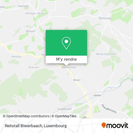 Reitstall Biwerbaach plan