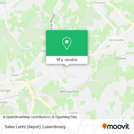 Sales Lentz (depot) plan