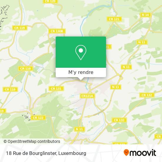 18 Rue de Bourglinster plan