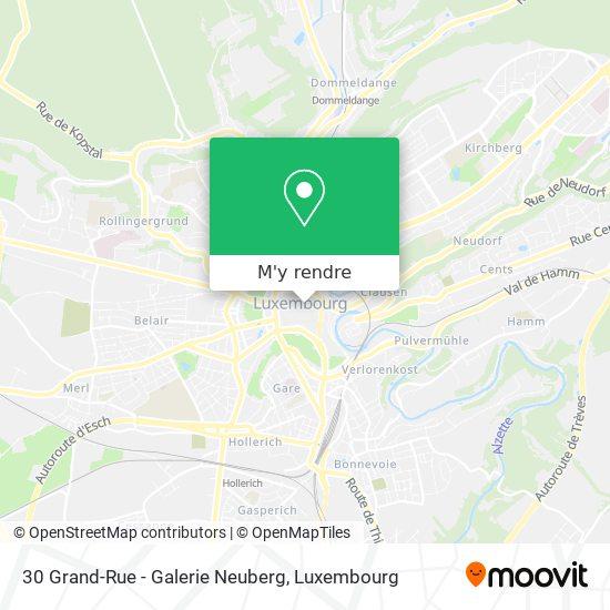 30 Grand-Rue - Galerie Neuberg plan