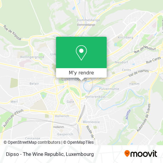 Dipso - The Wine Republic plan