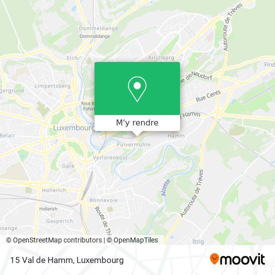 15 Val de Hamm plan