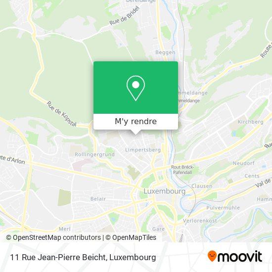 11 Rue Jean-Pierre Beicht plan