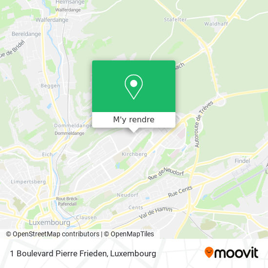1 Boulevard Pierre Frieden plan