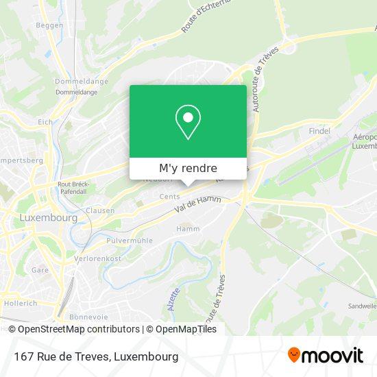 167 Rue de Treves plan