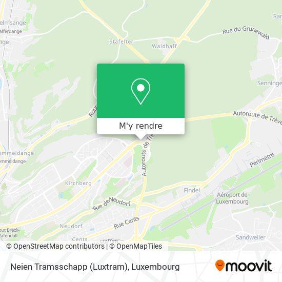 Neien Tramsschapp (Luxtram) plan