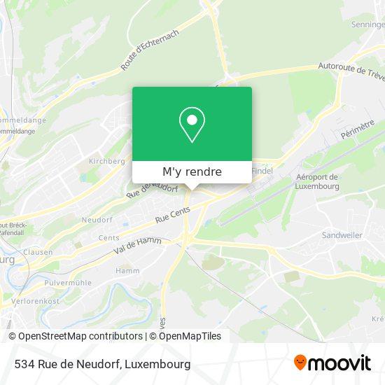 534 Rue de Neudorf plan