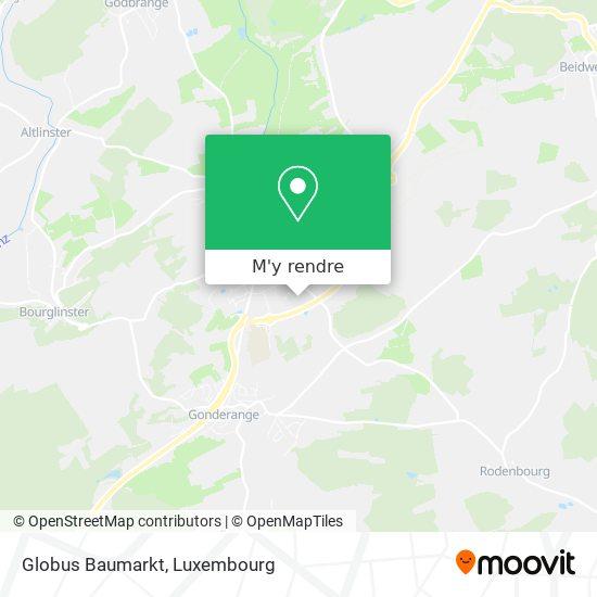 Globus Baumarkt plan