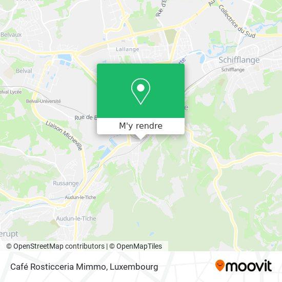 Café Rosticceria Mimmo plan