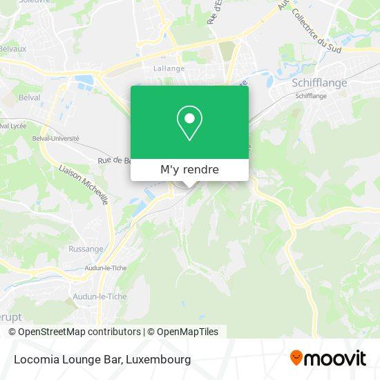 Locomia Lounge Bar plan