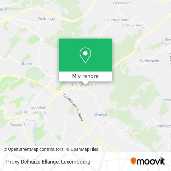 Proxy Delhaize Ellange plan