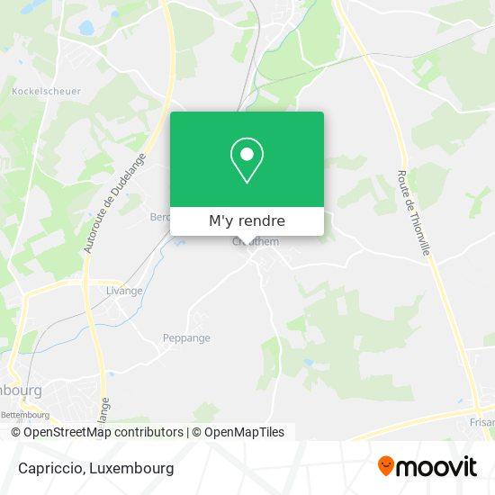 Capriccio, 36, Rue de Bettembourg 3326 Roeser plan