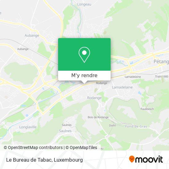 Le Bureau de Tabac, 146, Route de Longwy 4831 Pétange plan