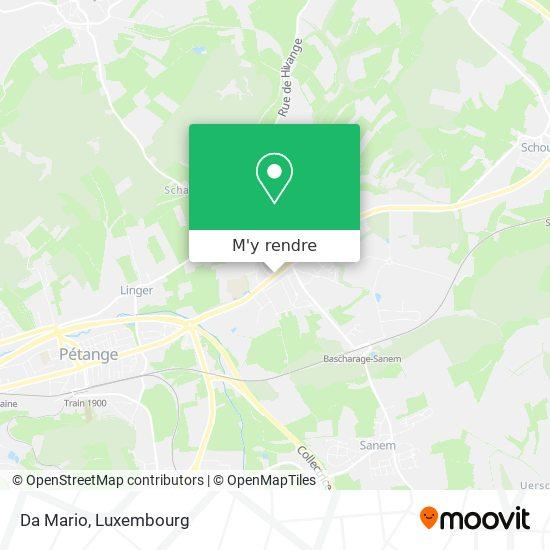 Da Mario, 129, Avenue de Luxembourg 4940 Käerjeng plan