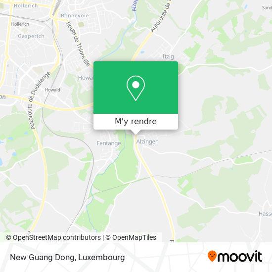 New Guang Dong, 461, Route de Thionville 5887 Hesperange plan