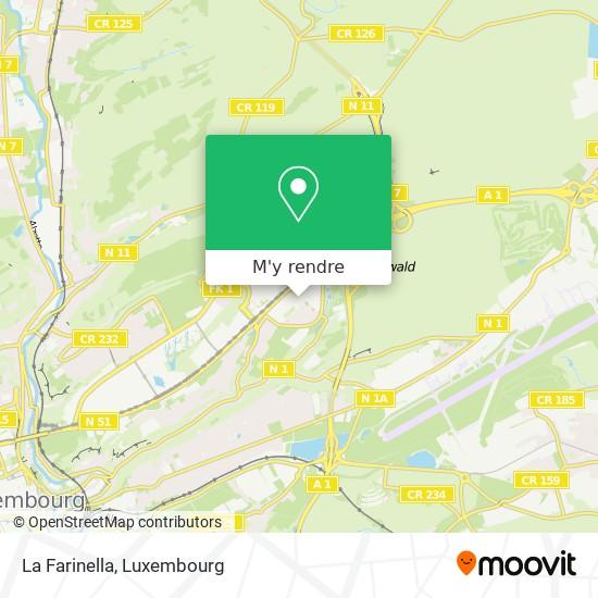 La Farinella, 13, Rue Edward Steichen 2540 Luxembourg plan