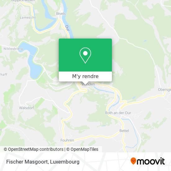 Fischer Masgoort, 43, Grand-Rue 9410 Vianden plan