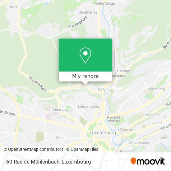 60 Rue de Mühlenbach plan