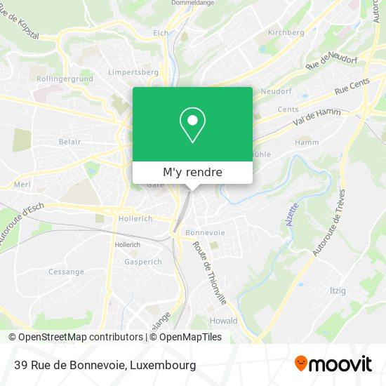 39 Rue de Bonnevoie plan