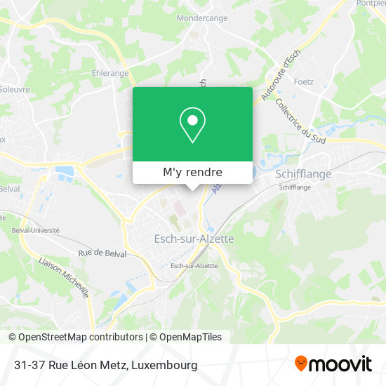 31-37 Rue Léon Metz plan
