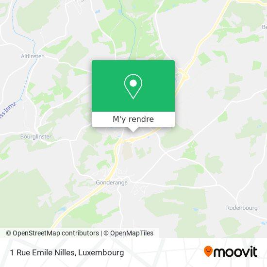 1 Rue Emile Nilles plan