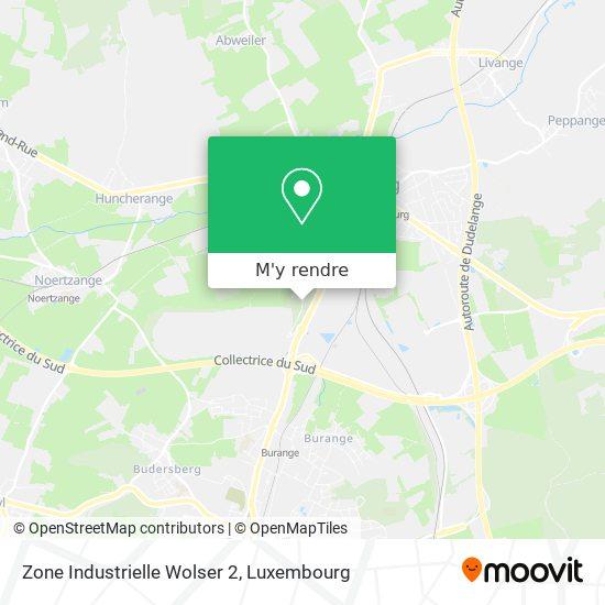 Zone Industrielle Wolser 2 plan