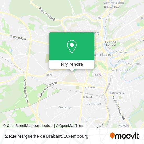 2 Rue Marguerite de Brabant plan