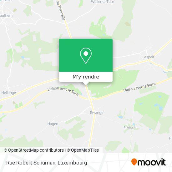 Rue Robert Schuman plan