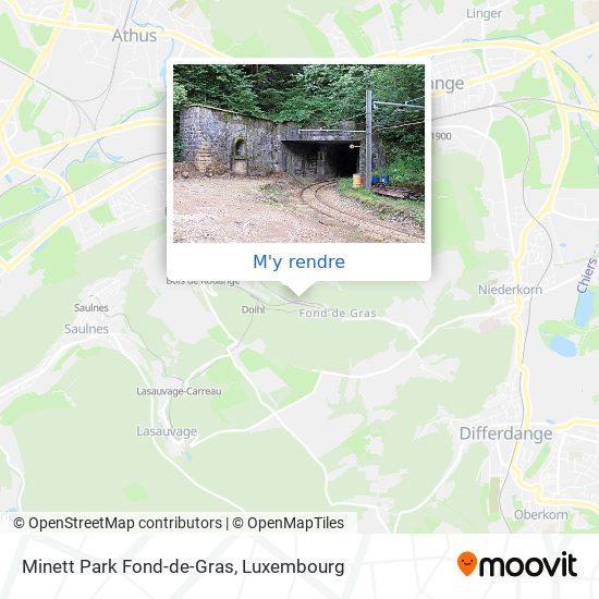 Minett Park Fond-de-Gras plan