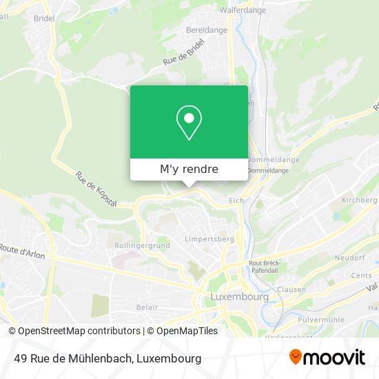 49 Rue de Mühlenbach plan